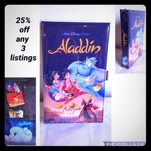 New Aladdin VHS oversized Clutch
